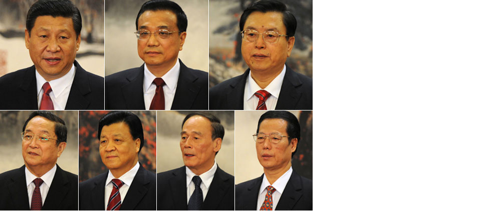 China's new leaders