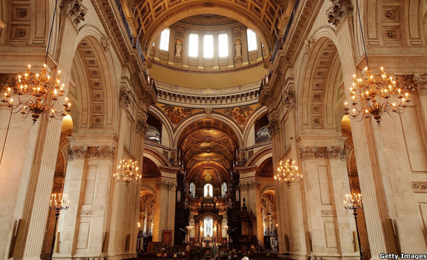 Nave of St Paul's Cathedral