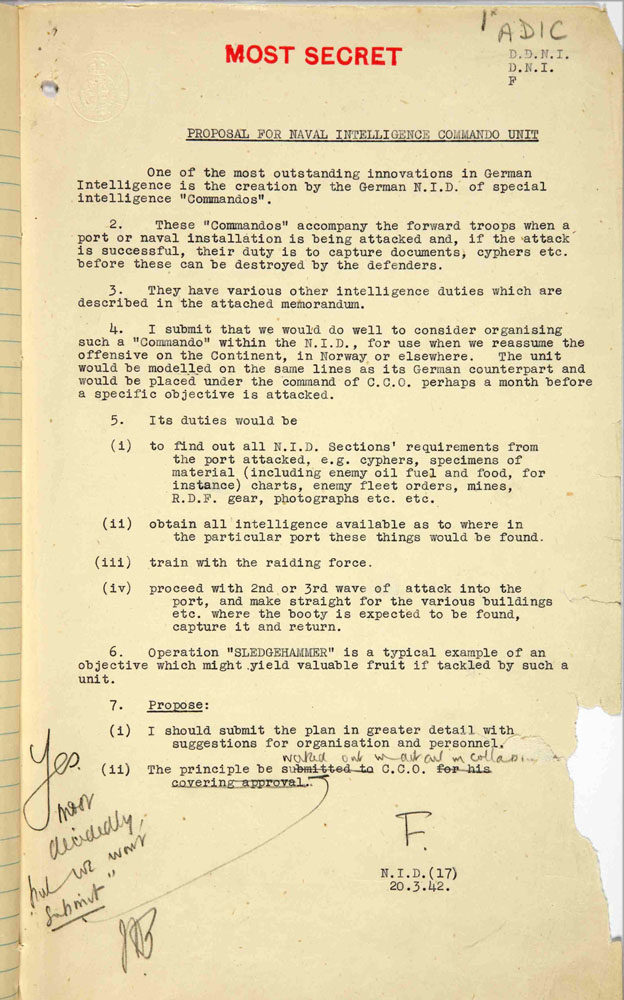 World War II document