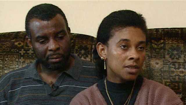 The family of Stephen Lawrence have met the ANC leader Nelson Mandela.