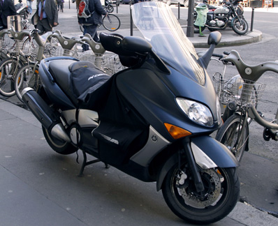 Yamaha T-MAX scooter