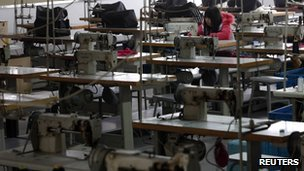 Garment Factory in China