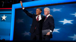 Bill Clinton dan Obama
