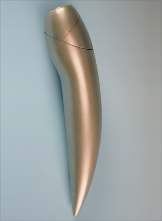 Photo: The torch design for the 1992 Winter Olympic Games