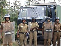 Sri Lanka police is accused by EPDP of failing to take action against the abductions
