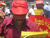 Joint left and trde unions in May Day Rally in Colombo