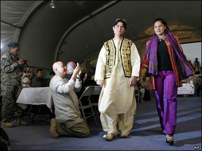 لباس افغانی مردانه