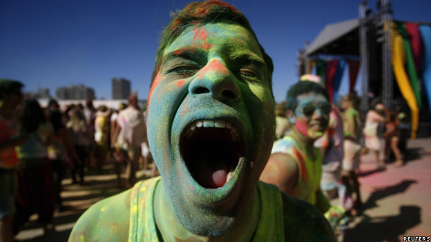 Holi One festival in Cape Town