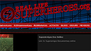 Website de los Real Life Superheroes