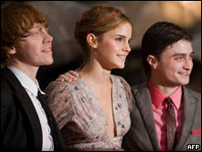 The stars of the Harry Potter films