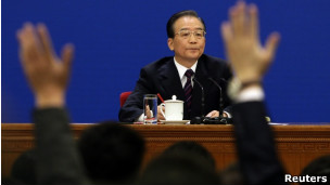 China PM Wen Jiabao (file photo)