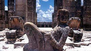یکی از آثار به جا مانده از قوم مایا