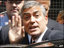 O ator George Clooney