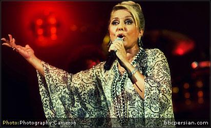 کنسرت گوگوش در تفلیس BBCPersian.com