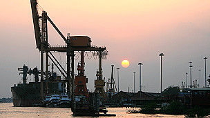 Rangoon Port