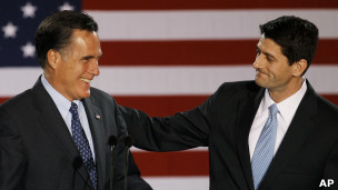 Mitt Romney et Paul Ryan
