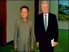 BBC Mundo - Internacional - Bill Clinton y Kim Jong-Il ...