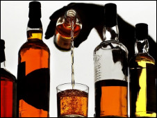 Botellas de whisky