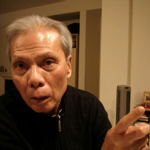 Ông Nguyễn Chí Thiện (ảnh của Bùi Văn Phú)