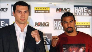 Haye and Klitschko