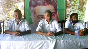 Ranil Wickramasinghe in Batticaloa (file photo)