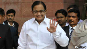 Finance Minister P Chidambaram (file photo)