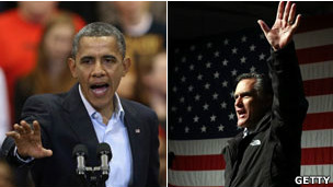 Obama e Romney | Foto: Getty