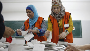 west bank election
