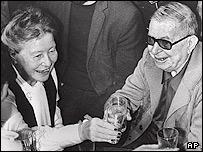سیمون دو بوار و ژان پل سارتر