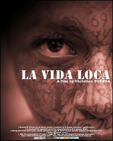 Afiche del documental de Poveda