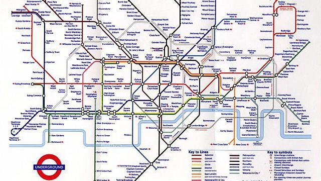 Londres - Mapa de Londres