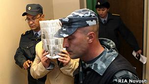 Обвиняемый в двойном убийстве Игорь Данилевский
