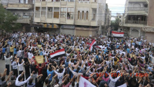 Manifestants syriens (Archives)