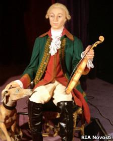 Петр III (восковая фигура из музея в Петергофе)