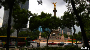 "Mexico""s Angel of Independence monument"