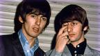 George Harrison e Ringo Star. Crédito: Dr Robert Beck/Omega Auctions/PA Wire