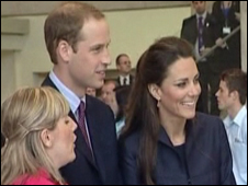 Kate Middleton ad Yarima William