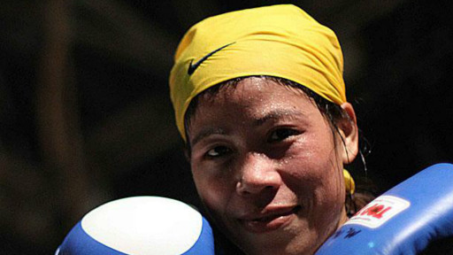 mary kom indian boxer