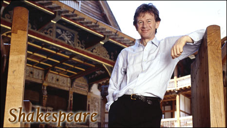 Michael Wood at the Globe Theatre