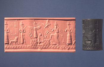هنا سنأخذكم جوله حول تاريخ وحضاره للتعرف على آثار وادي الرافدين او سنسميه بـــــلاد الرافدين Mesopotamia_seal