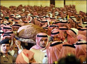 جنازة خادم الحرمين الشرفين الملك رحمه الله