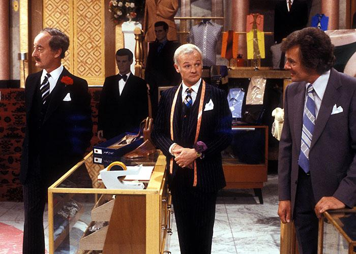 The department store would go on to play a big role in many films and TV shows after The Floorwalker, such as the BBC comedy Are You Being Served?