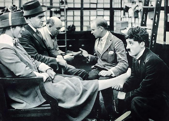 Selfridges introduced the department store as a key element of 20th Century culture, and Chaplin acknowledged the growing trend for shopping in them in his film The Floorwalker