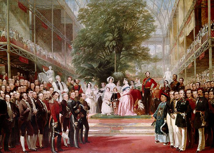 Victoria and Albert presided over the opening of the Crystal Palace and in many ways it became a symbol for their patronage of innovative new concepts