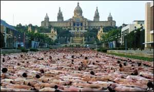 Local da fotografia é cartão-postal de Barcelona
