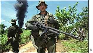 Forças colombianas vinham caçando traficante