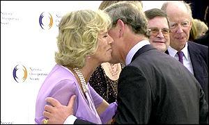 Charles e Camilla não escondem o namoro