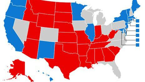 Електоральна карта США