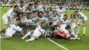 Bbc Hausa Wasanni Real Madrid Ta Lashe Gasar Super Cup