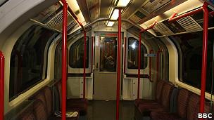 Vagón del metro de Londres